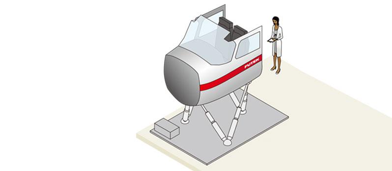 飞行模拟器模拟力反馈